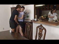 Garotas asiáticas seduziu e sexados em meia-calça
